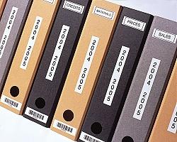 Páska BROTHER TZE-S231 bílá / černá 12mm