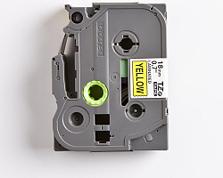 Páska BROTHER TZE-641 žlutá / černá 18mm