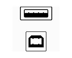 Kabel USB A-B 1.8m připojovací