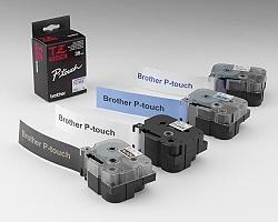 Páska BROTHER TZE-161 průsvitná / černá 36mm
