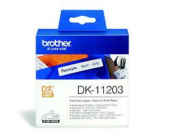 Štítky BROTHER DK-11203 papírové 17 x 87 mm