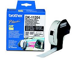 Štítky BROTHER DK-11204 papírové 17 x 54 mm