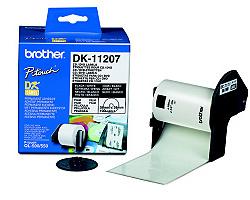Štítky BROTHER DK-11207 filmové průměr 58 mm