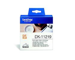 Štítky BROTHER DK-11219 papírové průměr 12 mm