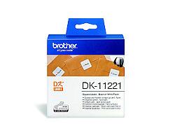 Štítky BROTHER DK-11221 papírové 23 x 23 mm