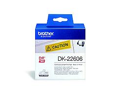 Role BROTHER DK-22606 filmová žlutá 62mm