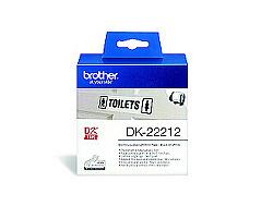 Role BROTHER DK-22212 filmová bílá 62mm