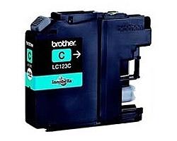 Inkoust. náplň BROTHER LC-123C modrá