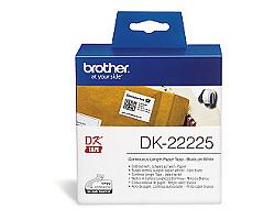 Role BROTHER DK-22225 papírová bílá 38mm