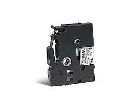 Páska BROTHER TZE-FX221 bílá / černá 9mm