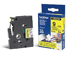 Páska BROTHER TZE-621 žlutá / černá 9mm