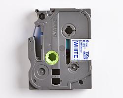 Páska BROTHER TZE-223 bílá / modrá 9mm