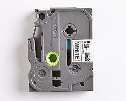Páska BROTHER TZE-221 bílá / černá 9mm