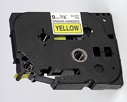 Páska BROTHER TZE-S621 žlutá / černá 9mm