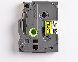 Páska BROTHER TZE-631 žlutá / černá 12mm