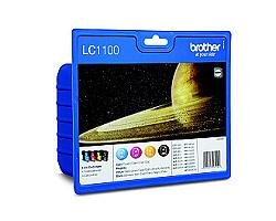Inkoust. náplň BROTHER LC-1100 sada CMYK