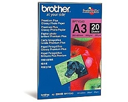 Papír BROTHER BP71GA3 Premium Glossy A3
