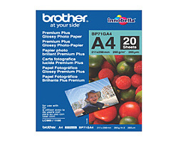 Papír BROTHER BP71GA4 Premium Glossy A4