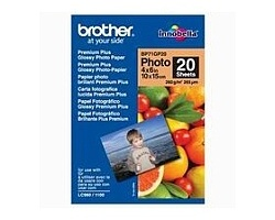 Papír BROTHER BP71GP20 Premium Glossy 10x15