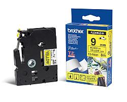 Páska BROTHER TZE-FX621 žlutá / černá 9mm