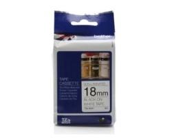 Páska BROTHER TZE-N241 bílá / černá 18mm