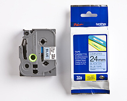 Páska BROTHER TZE-551 modrá / černá 24mm