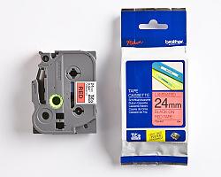 Páska BROTHER TZE-451 červená / černá 24mm