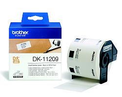 Štítky BROTHER DK-11209 papírové 29 x 62 mm