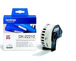 Role BROTHER DK-22210 papírová bílá 29mm