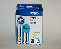 Inkoust. náplň BROTHER LC-525XLY žlutá