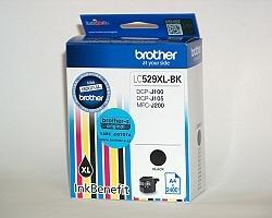 Inkoust. náplň BROTHER LC-529XLBK černá