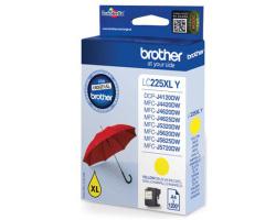 Inkoust. náplň BROTHER LC-225XLY žlutá