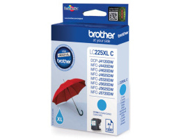 Inkoust. náplň BROTHER LC-225XLC modrá