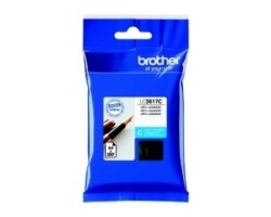 Inkoust. náplň BROTHER LC3617C modrá