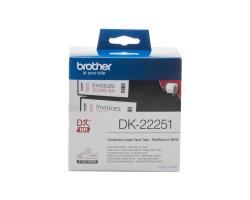 Role BROTHER DK-22251 papírová bílá 62mm