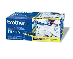 Toner BROTHER TN-135Y žlutý 115025